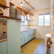 cimento queimado na cozinha