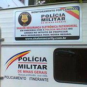 Parceria com a Policia Militar do Estado de Minas Gerais
