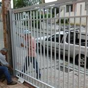 Portão instalado com motor rossi