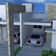 Projeto Arquitetônico Casa Geminada
