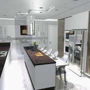 Projeto cozinha em 3D