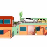 projeto e construção de 3 residencias