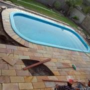 reforma de piso de piscina
