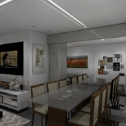 Distribuidores Santa luzia - Apartamento com Varanda Gourmet e Cozinha integrada