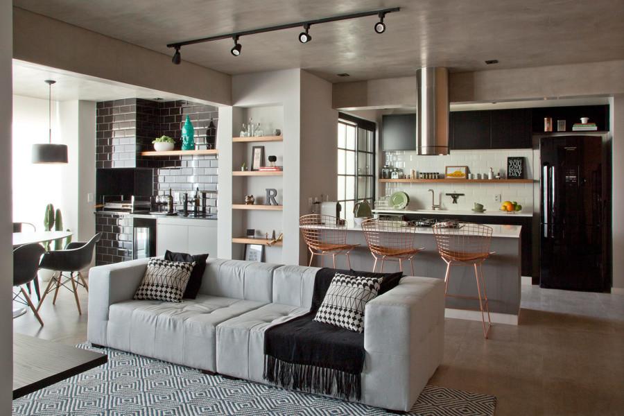 Apartamento pequeno e aproveitado