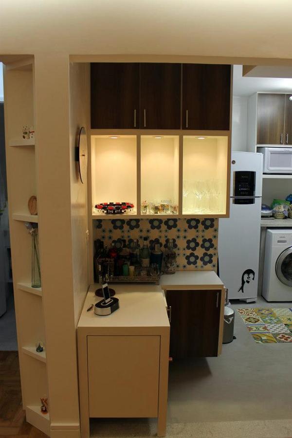 Arquilab - projeto e reforma de apartamento - 46m²