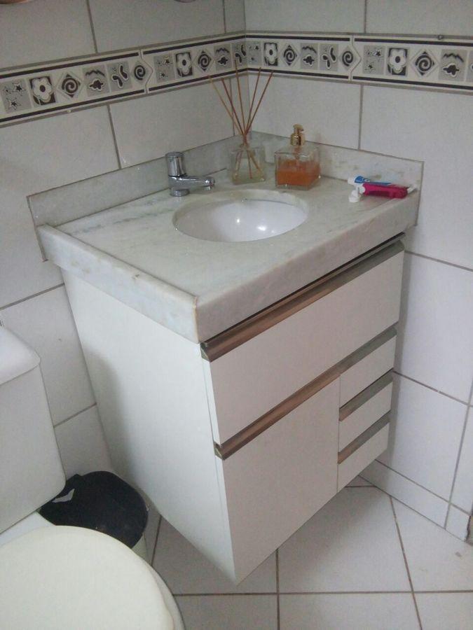 Balcão pia de banheiro