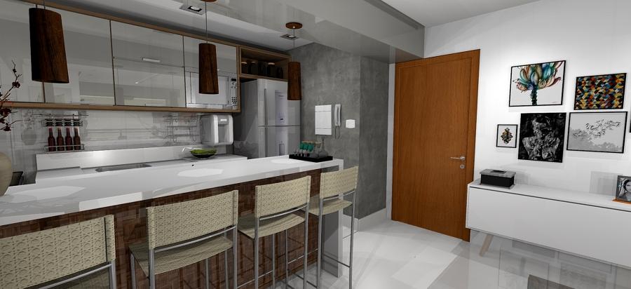 Balcão Sala / Cozinha