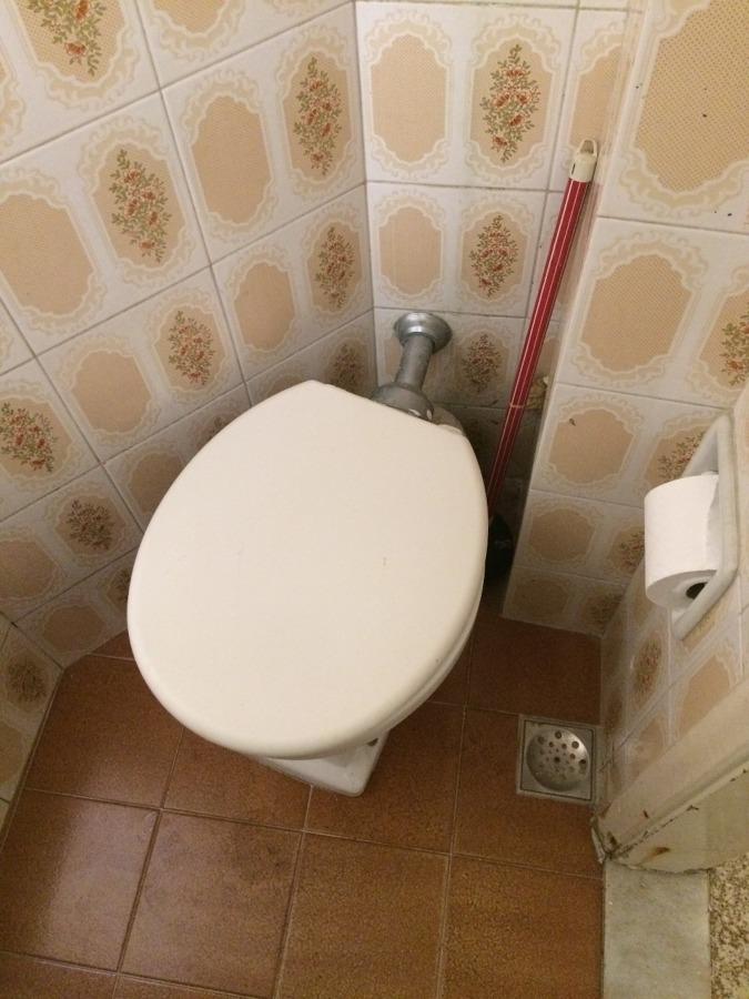 Banheiro de Serviço - Sanitário