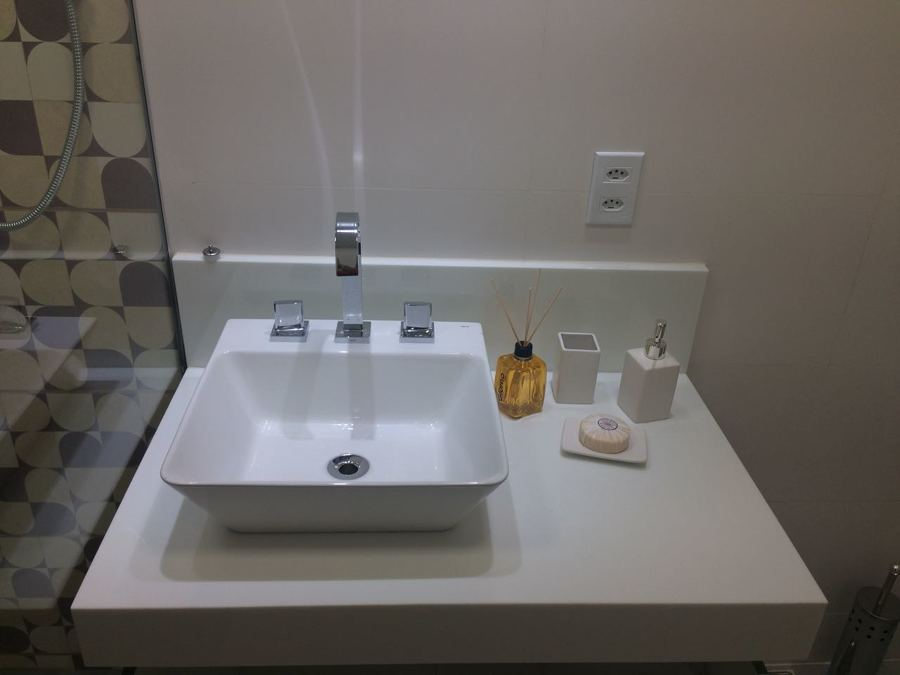 Banheiro Social - Lavatório