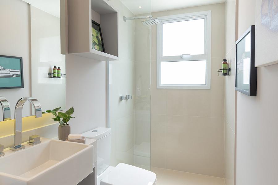 Banho da Suite 1