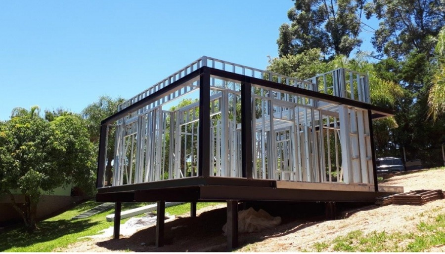 casa em steel frame