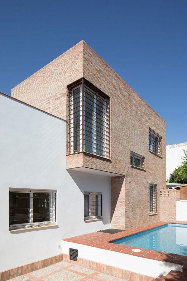 casas feitas com tijolos