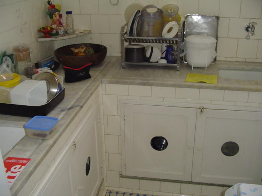 Atualização da cozinha, anos 50.