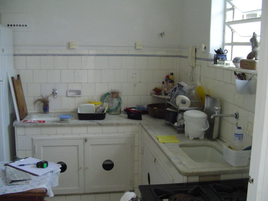 cozinha antes da rerforma