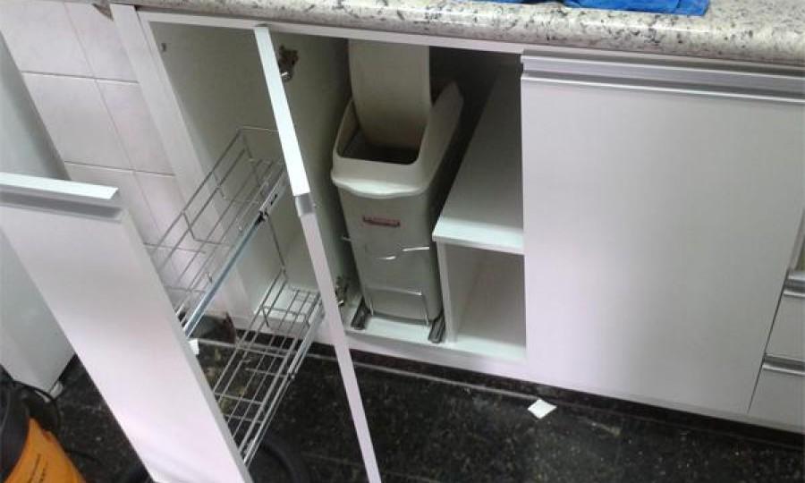 cozinha branca resistente humidade
