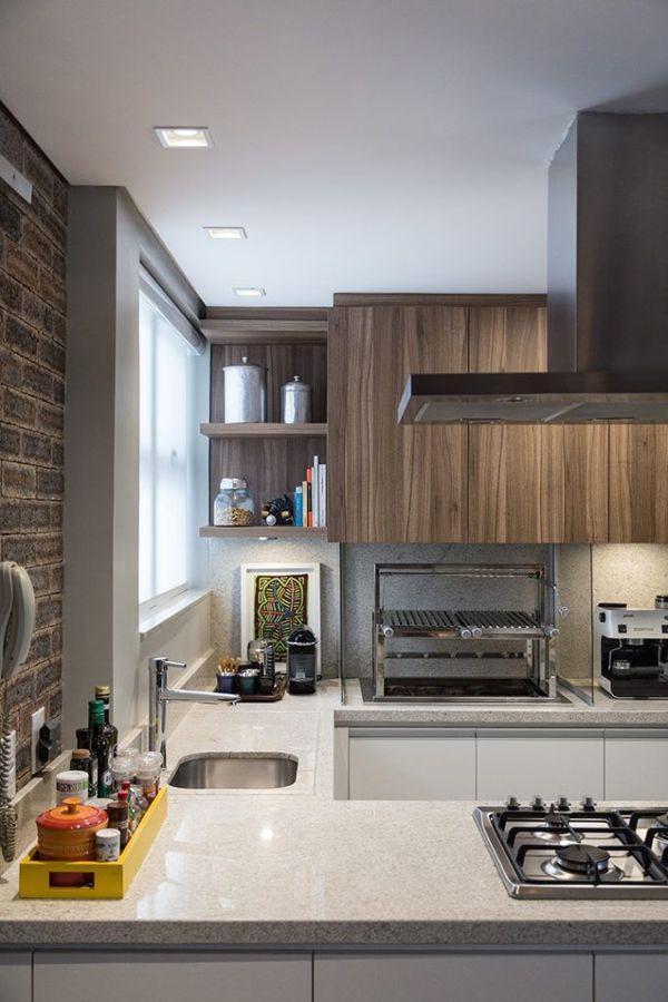 bancada de granito na cozinha