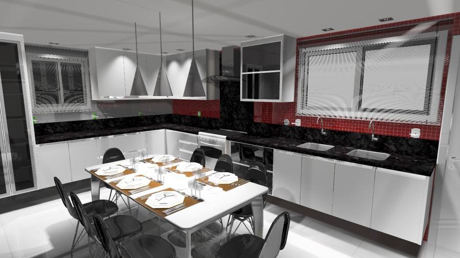 Cozinha grande 8