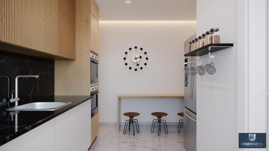 Cozinha Integrada com lavanderia