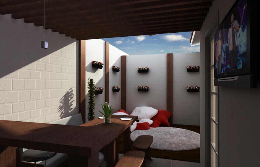 espaço gourmet de Leandro Muller