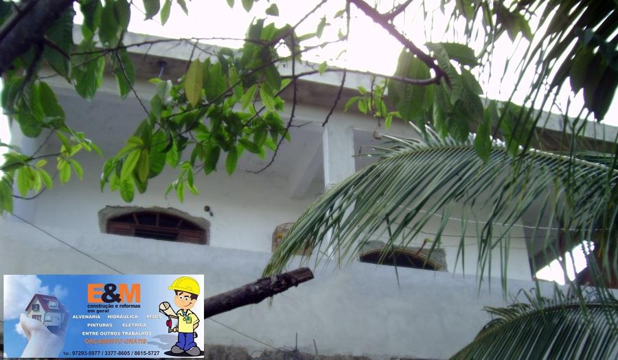 Foto frontal da casa