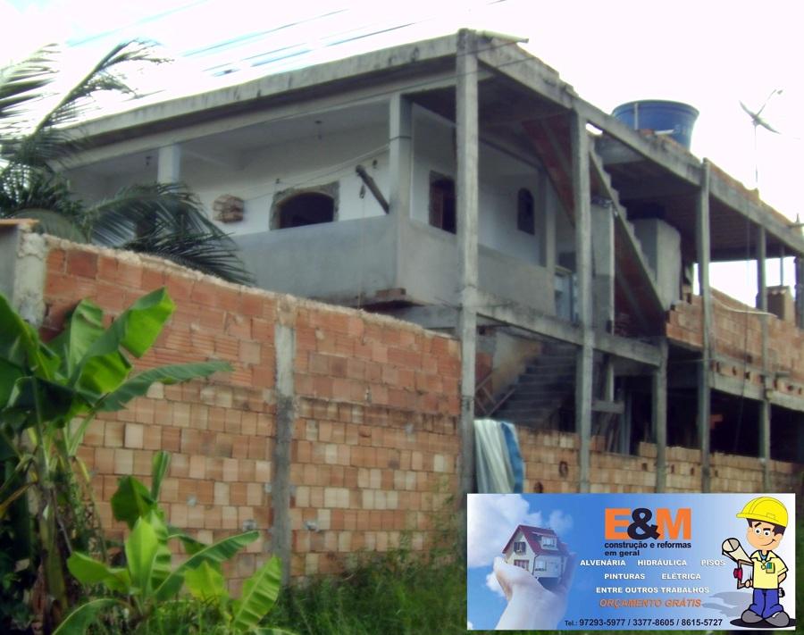 Foto lateral da casa