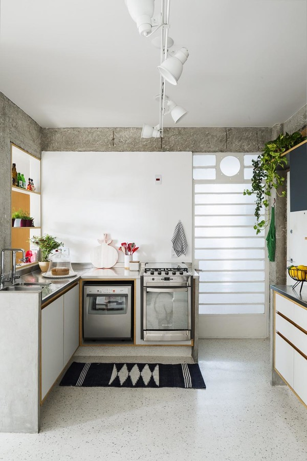granilite na cozinha