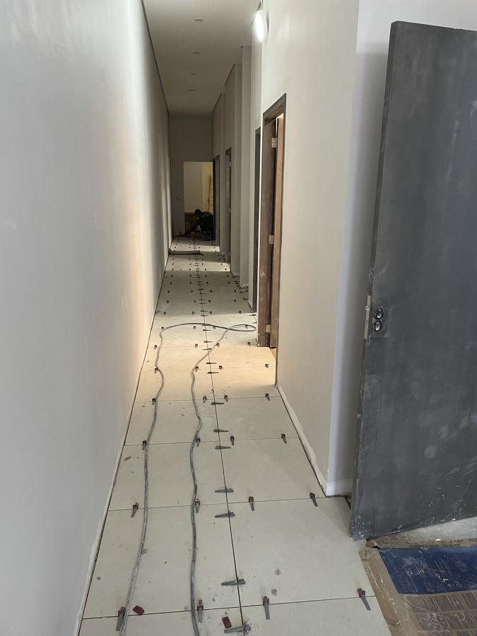 Instalação de piso porcelanato