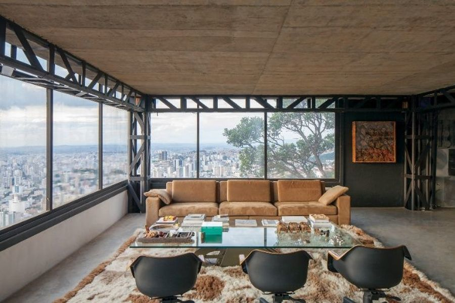 interno casa steel frame