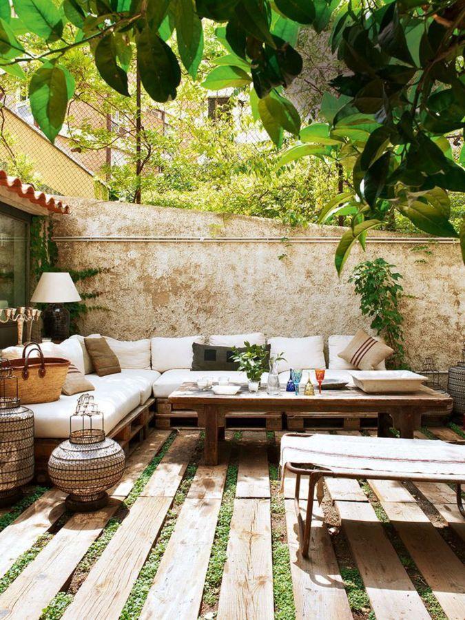 lounge com palets