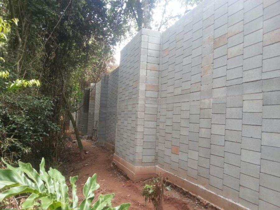 Muro de condominio divisa h 4, 20m