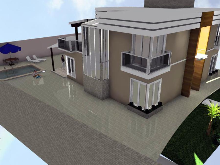 Outra vista lateral Residência E & M