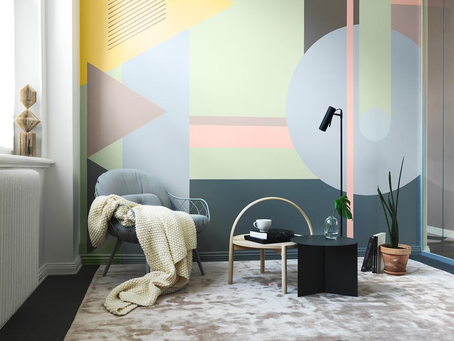 Painel de pintura para parede