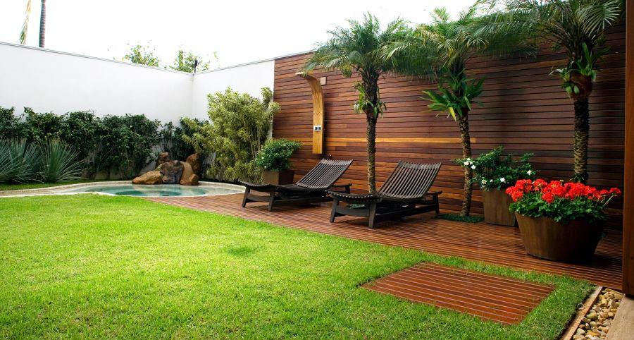paisagismo para o  jardim
