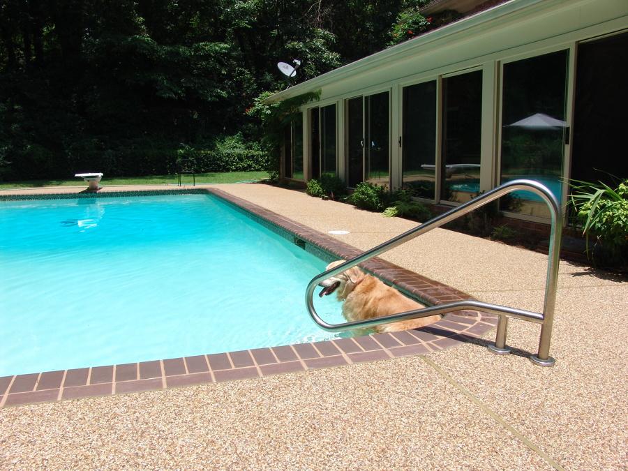 piscina com revestimento fulget
