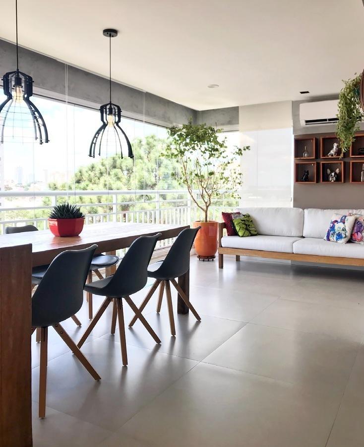 piso para terraço