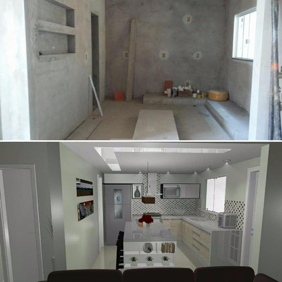 Projeto 3D cozinha