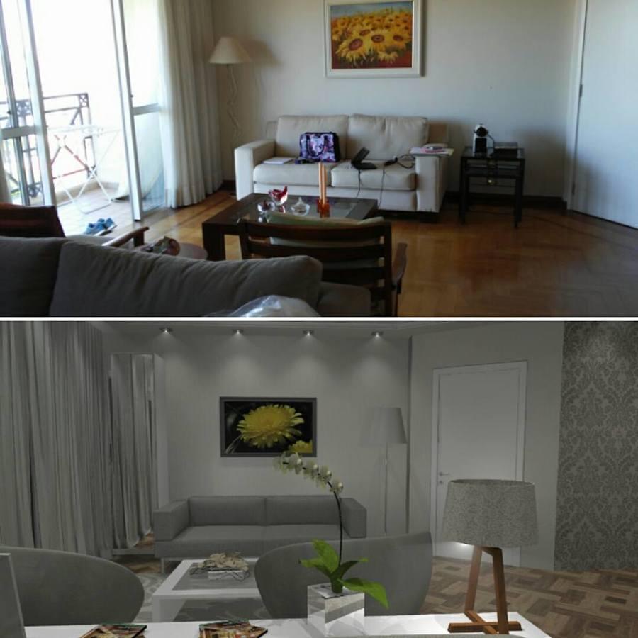 Projeto 3D  Sala de estar