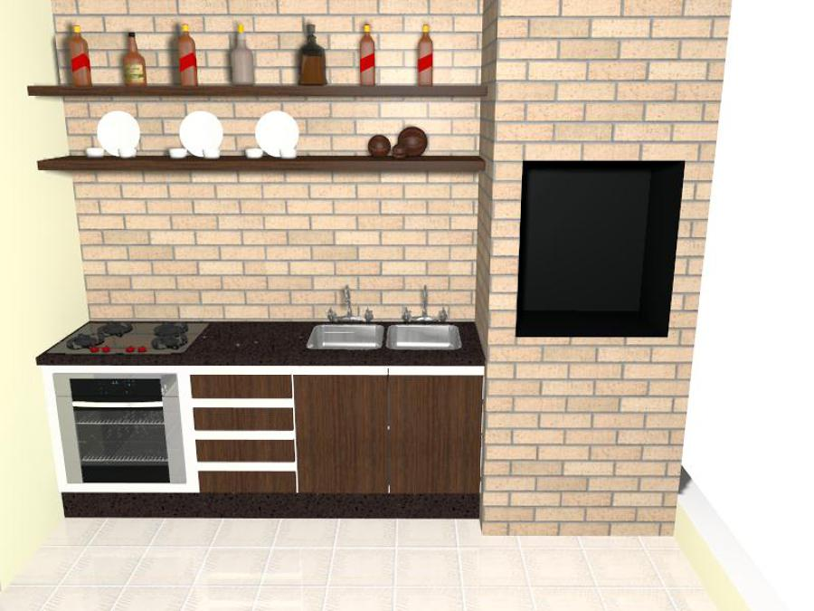 Projeto Área Gourmet 2