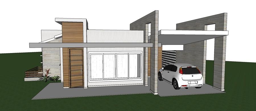 Projeto Arquitetônico Casa Térrea