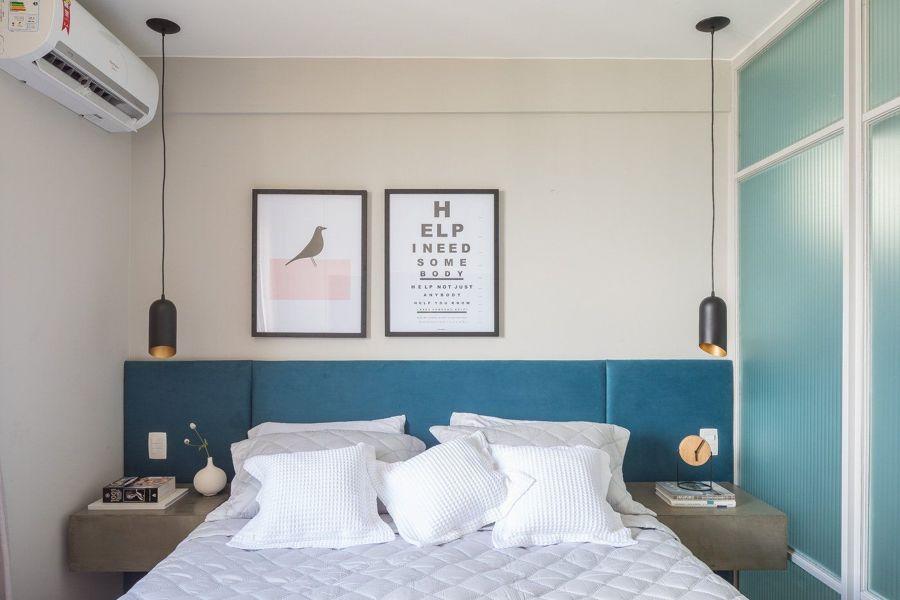 quarto com estilo moderno