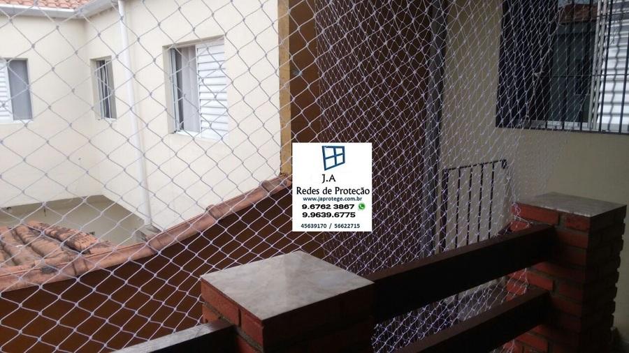 rede de proteção para vão de escada