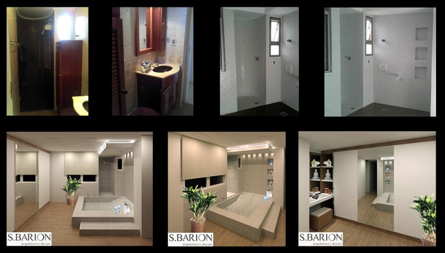 Reforma Banheiro + Closet + Bancada Maquiagem