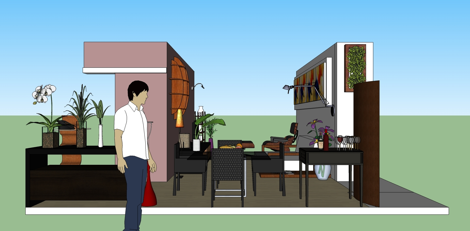 reforma e arquitetura de interiores apartº paraíso
