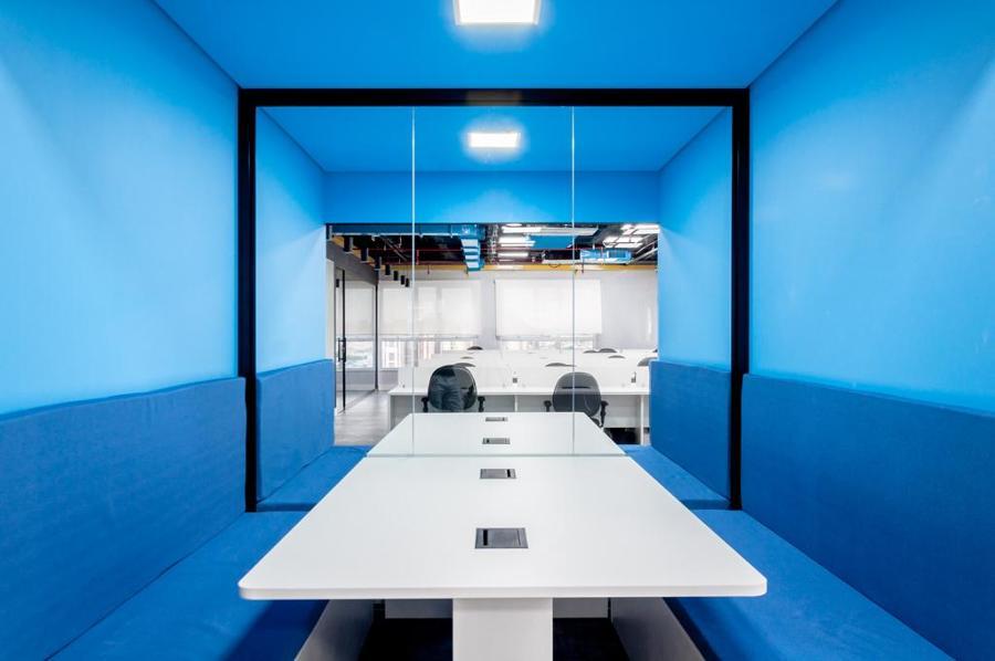Salas de reuniões rápidas