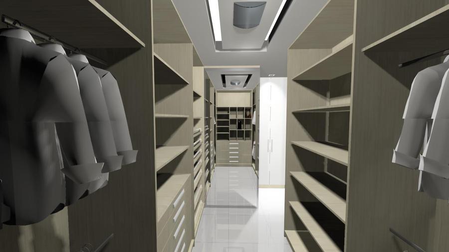 Suite casal com closet 10