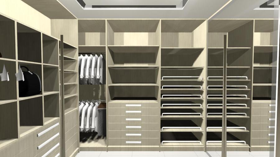Suite casal com closet 11