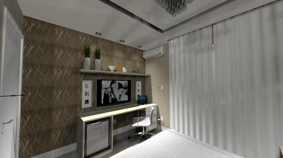 Suite casal com closet 2