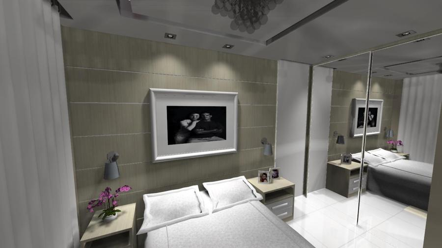 Suite casal com closet 4