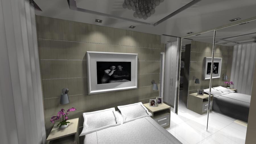 Suite casal com closet 5